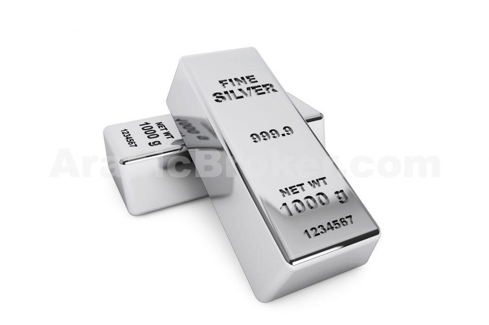 الفضة تتراجع مع بداية تداولات الأسبوع