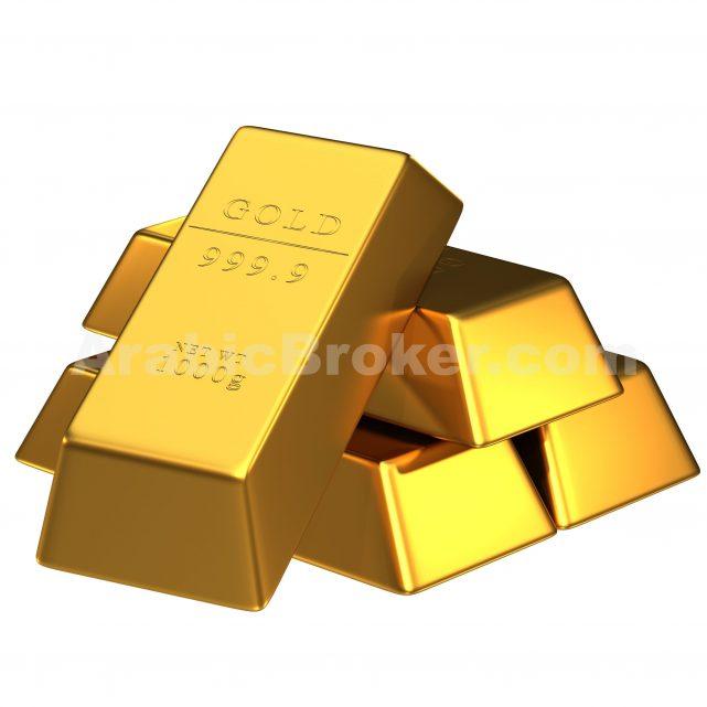 الذهب يوصل الهبوط بالرغم من تراجع الدولار الامريكى
