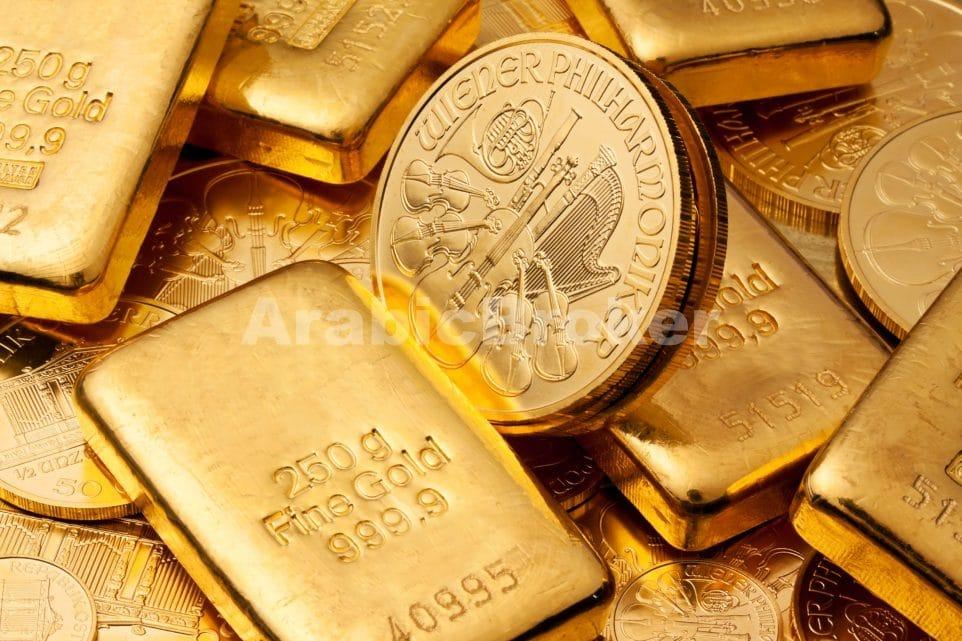 استقرار سلبي لأسعار الذهب مع الاستقرار الإيجابي لمؤشر الدولار والأنظار على حديث برينارد
