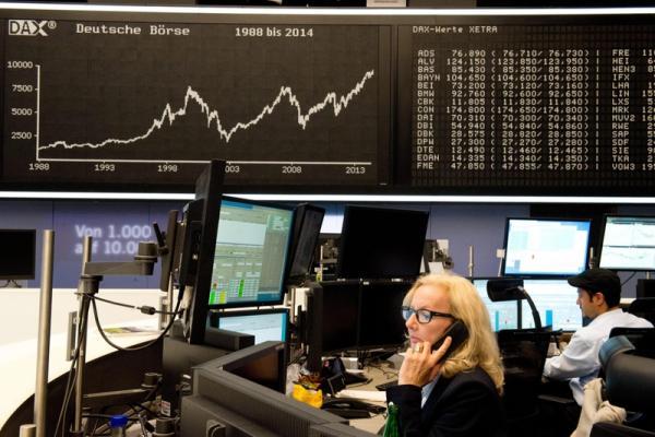 مؤشرات الأسهم في ألمانيا تباينت عند نهاية جلسة اليوم؛ داكس 30 صعد نحو 0.41%