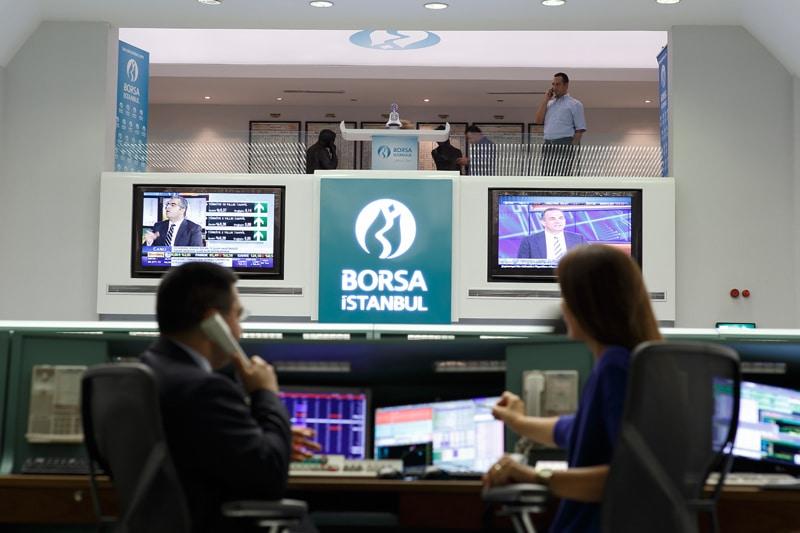 مؤشرات الأسهم في تركيا هبطت عند نهاية جلسة اليوم؛ مؤشر آي إٍس إيه 100 تراجع نحو 2.61%