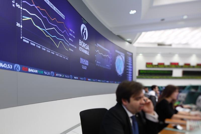 مؤشرات الأسهم في تركيا ارتفعت عند نهاية جلسة اليوم؛ مؤشر آي إٍس إيه 100 صعد نحو 1.42%
