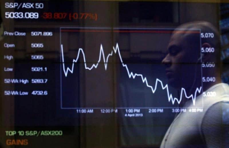 مؤشرات الأسهم في أستراليا ارتفعت عند نهاية جلسة اليوم؛ إيه إس إكس 200 صعد نحو 0.11%