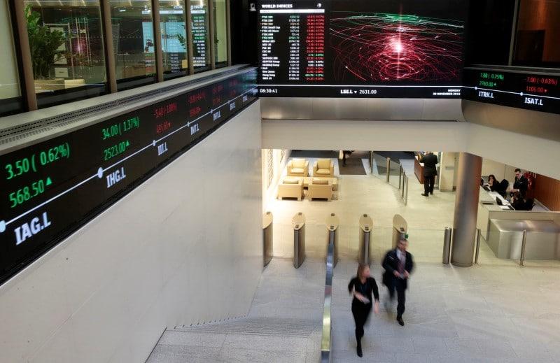 مؤشرات الأسهم في المملكة المتحدة ارتفعت عند نهاية جلسة اليوم؛ Investing.com بريطانيا 100 صعد نحو 0.45%