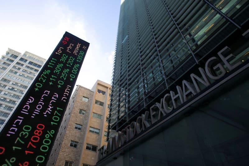 مؤشرات الأسهم في إسرائيل ارتفعت عند نهاية جلسة اليوم؛ TA 35 صعد نحو 0.07%