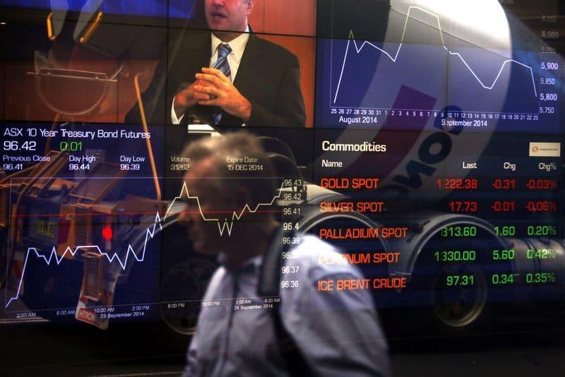 مؤشرات الأسهم في أستراليا ارتفعت عند نهاية جلسة اليوم؛ إيه إس إكس 200 صعد نحو 0.17%