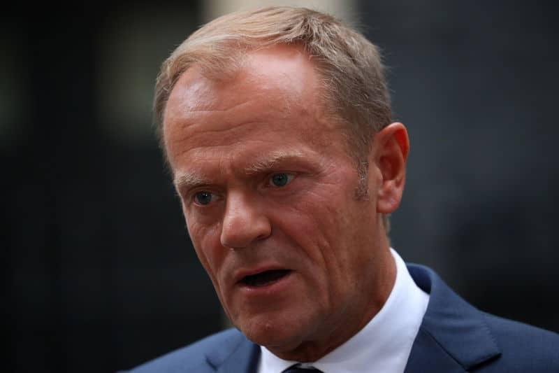 توسك: مفاوضات خروج بريطانيا من الاتحاد الأوروبي غير جاهزة للمرحلة التالية