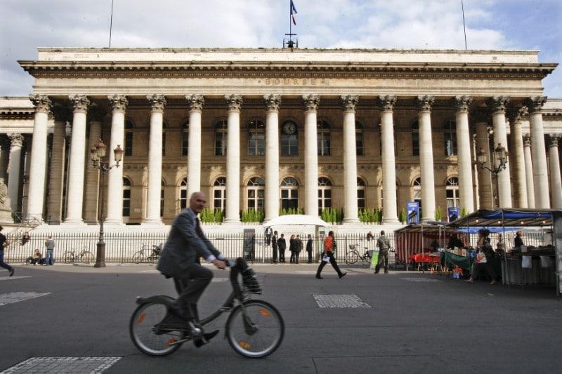 مؤشرات الأسهم في فرنسا هبطت عند نهاية جلسة اليوم؛ كاك 40 تراجع نحو 0.49%