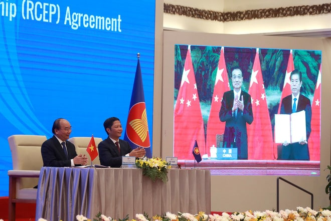 الصين: التوقيع على الشراكة الاقتصادية الإقليمية الشاملة انتصار للاقتصاد العالمي