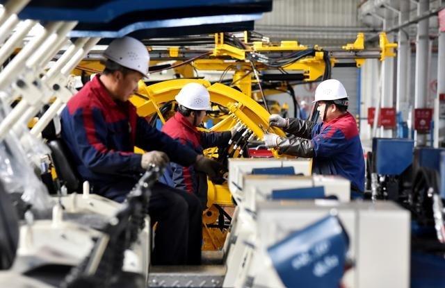 نمو الناتج الصناعي للصين 6.9 % سنويا خلال الشهر الماضي
