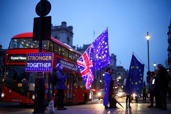 فرضية بريكست بدون اتفاق تقلق القطاع المالي البريطاني