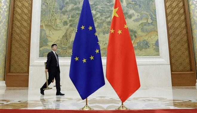 اجتماع زعماء الاتحاد الأوروبي والصين لمناقشة اتفاق استثمار