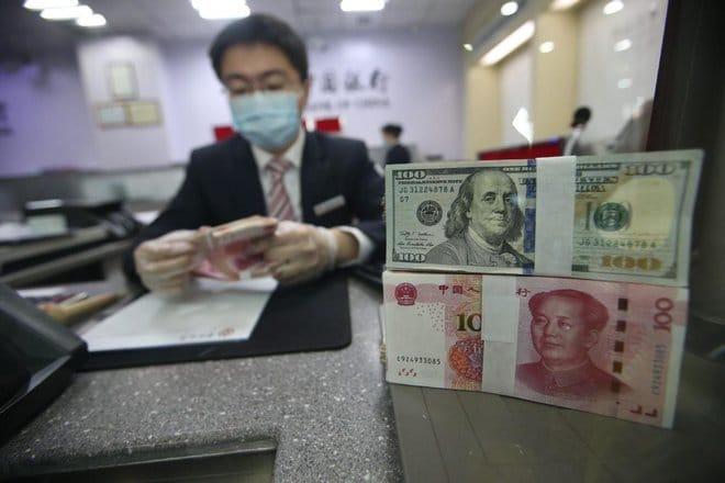 تراجع احتياطي النقد الأجنبي الصيني إلى 3.2 تريليون دولار