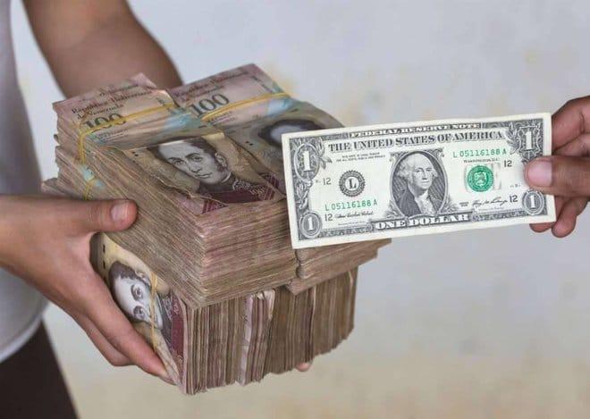 أوراق نقدية فنزويلية جديدة .. دولار واحد = 1.88 مليون بوليفار