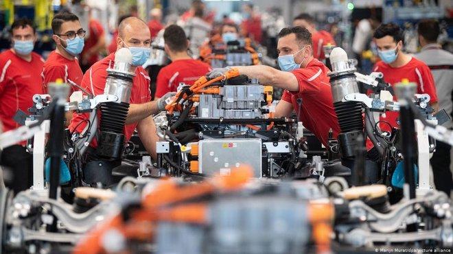 انكماش الاقتصاد الألماني 1.8 % خلال الربع الأول من 2021